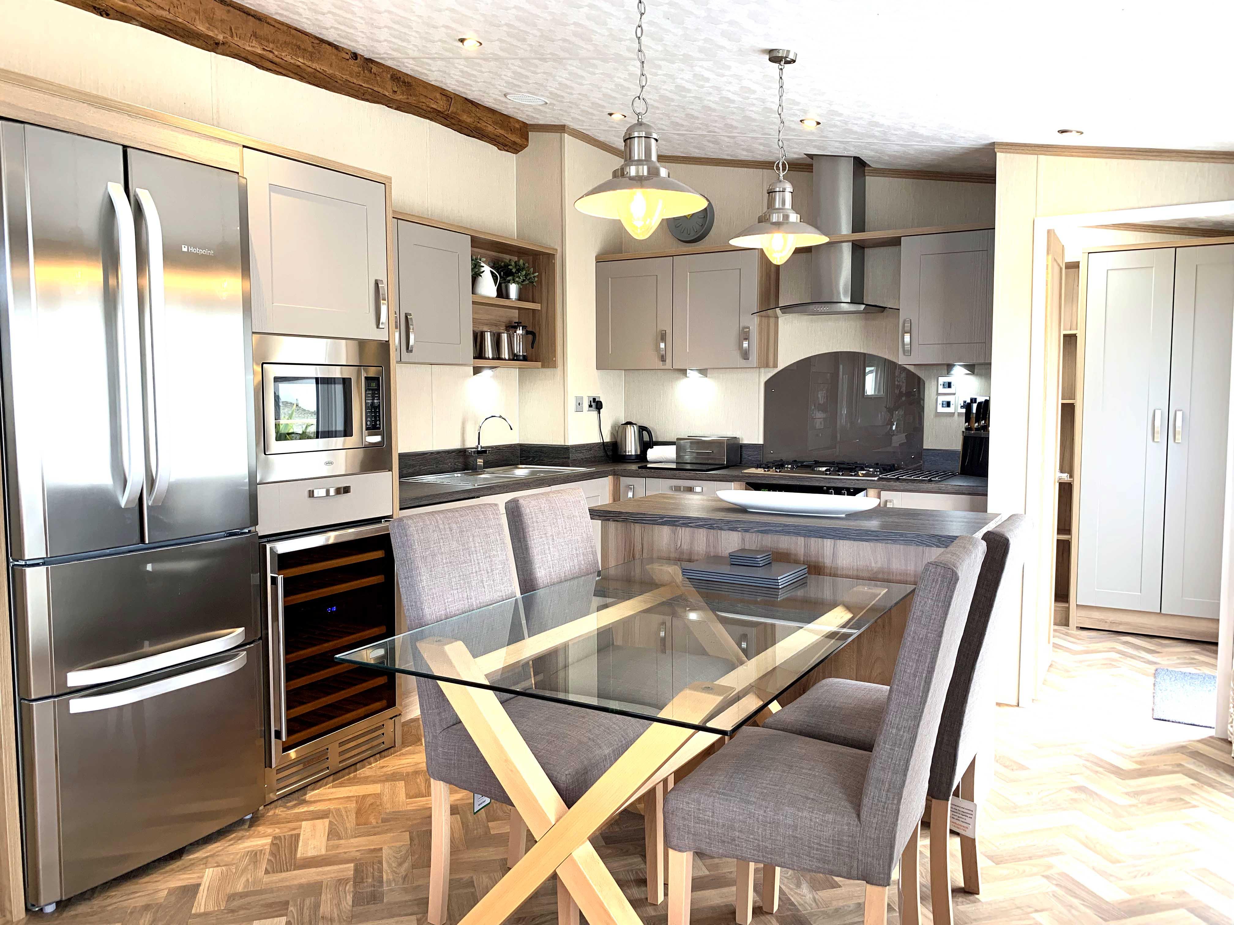 Rivendale Lodge Kitchen Gwalia Falls Retreat Tresaith Beach