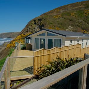 tresaith caravan, log cabins wales