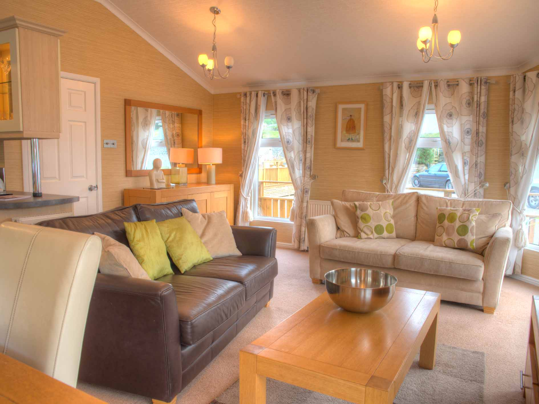 log cabin wales, lounge, holiday parks with lodges