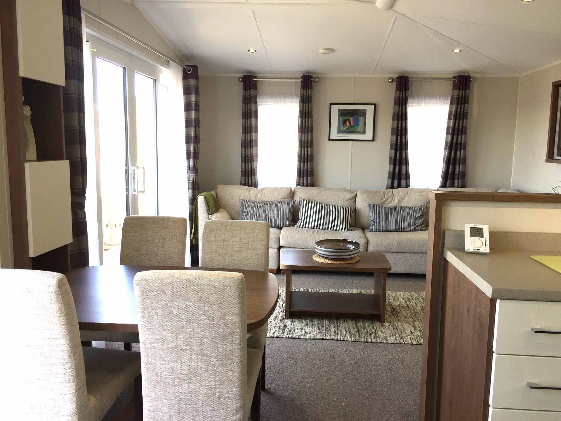 Oliday Lodges For Sale In Wales, Holiday Lodges Wales, Lounge