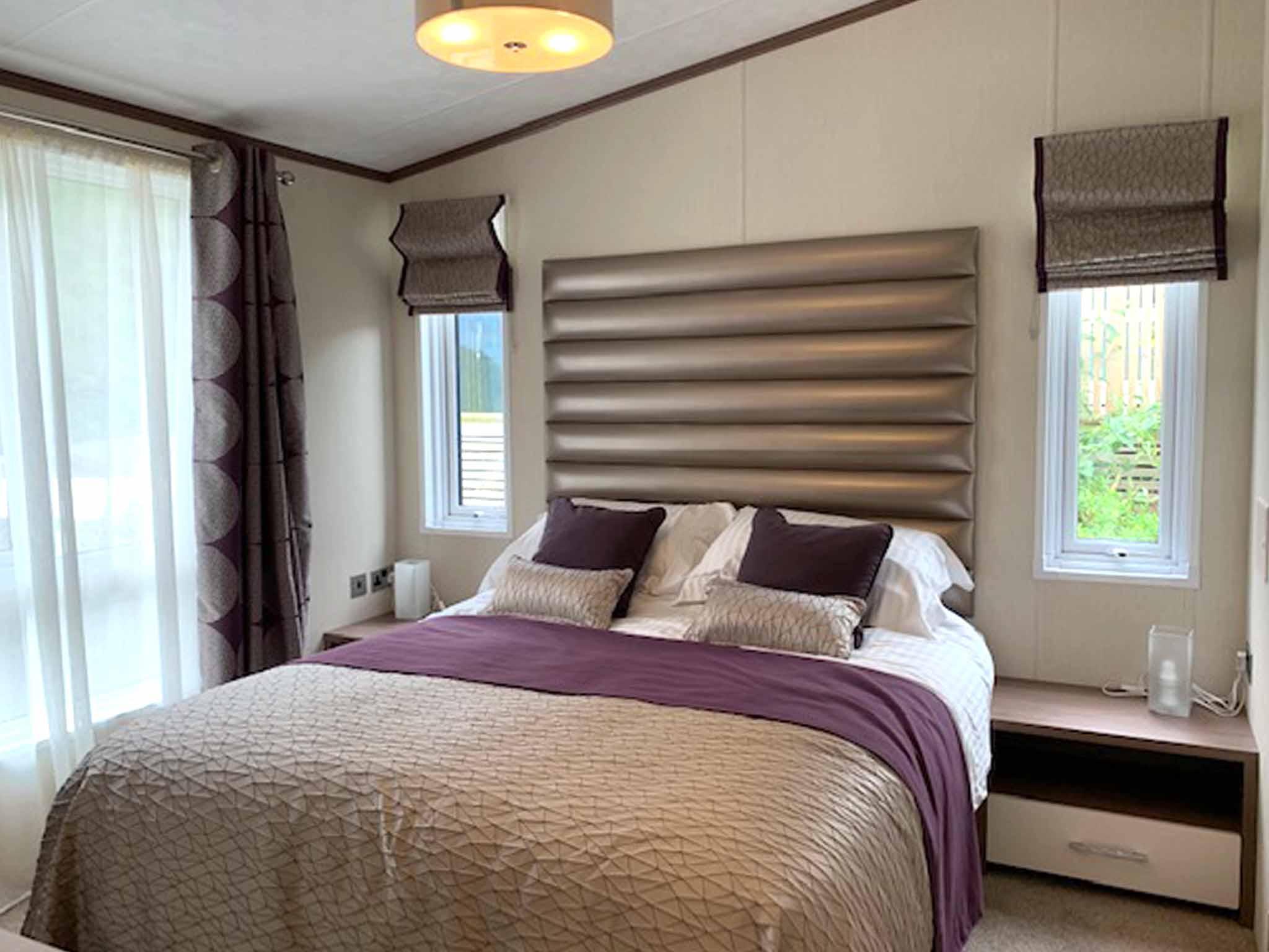 Pemberton Arrondale lodge Master bedroom Gwalia Falls Retreat Tresaith Beach