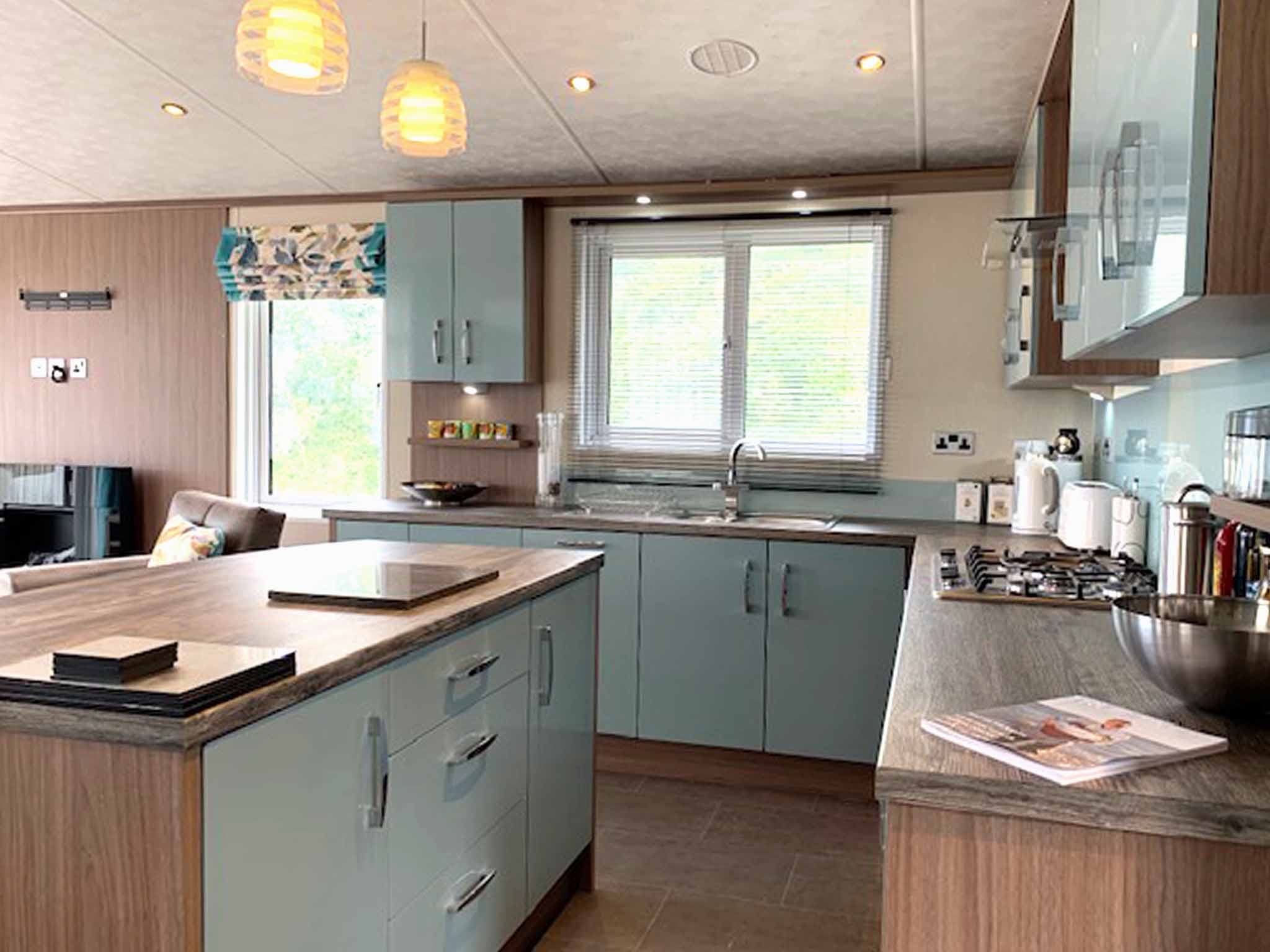 Pemberton Arrondale Lodge Kitchen Gwalia Falls Retreat Tresaith Beach