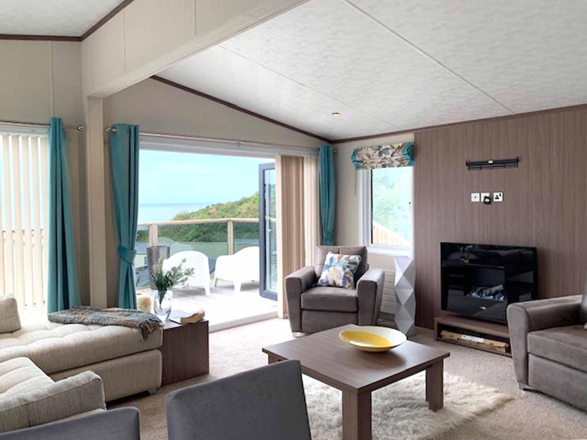 Pemberton Arrondale lodge lounge Gwalia Falls Retreat Tresaith Beach